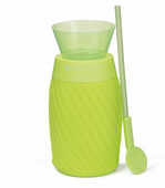 Idee regalo Slushy Maker. Prepara granita verde Pusher
