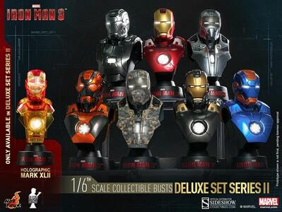 Iron Man Coll Bust 8-Pack Box