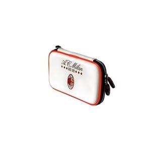 Custodia Carry Case Ac Milan Bianca Per Nintendo 3ds Dsi Ds Lite