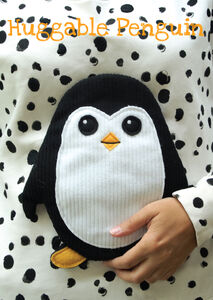 Giocattolo Peluche Huggable Penguin Trading Group 1