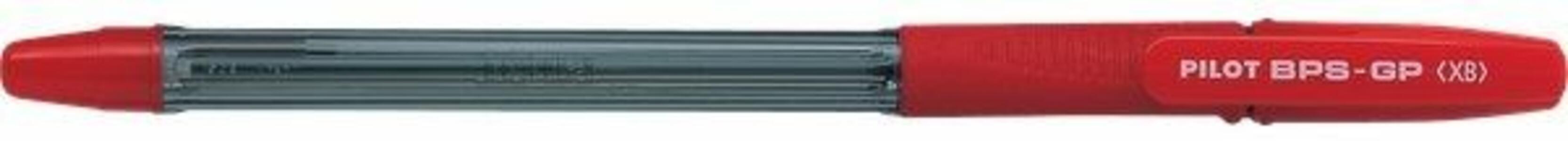 Penna a sfera Pilot G-1 Grip rosso punta 1,6 mm