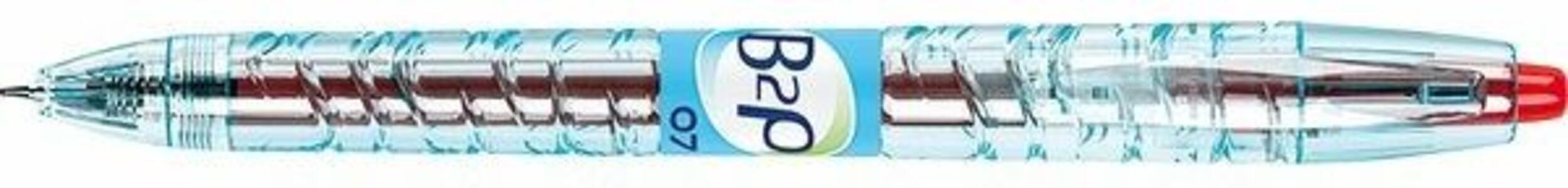 Penna gel Pilot BeGreen B2P rosso punta 0,7 mm