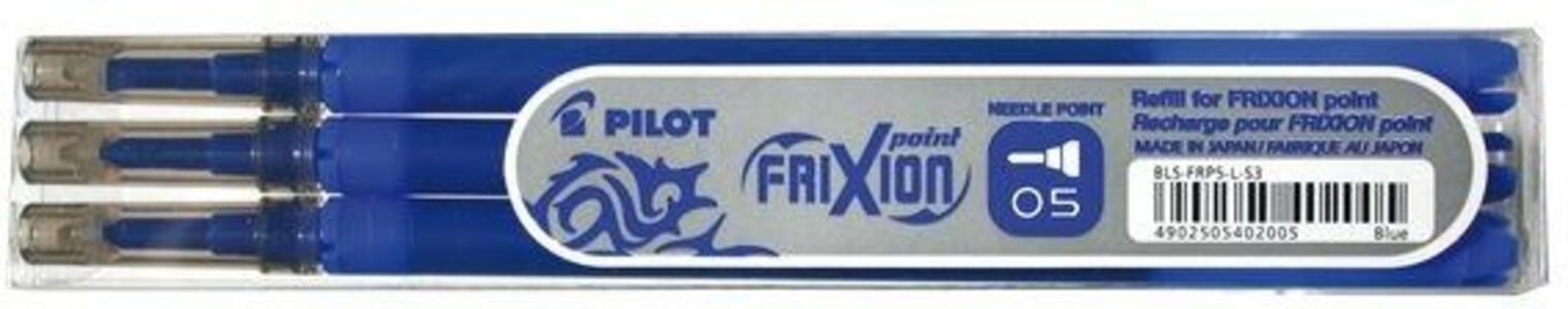 Penna a sfera cancellabile Pilot Frixion Point 0,5 blu punta 0,5 mm. Confezione 3 pezzi - 2
