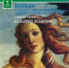 Respighi. Gui Uccelli - CD Audio di Ottorino Respighi,Claudio Scimone