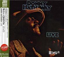 Live - CD Audio di Donny Hathaway