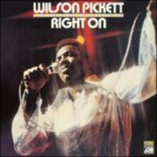Right on - CD Audio di Wilson Pickett