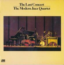 Last Concert vol.1 - CD Audio di Modern Jazz Quartet