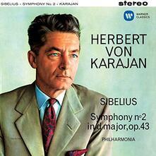 Sibelius. Sinfonia n.2 - SuperAudio CD di Jean Sibelius,Herbert Von Karajan