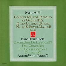 Concerti per Pianoforte n.25, n.27 - CD Audio di Wolfgang Amadeus Mozart