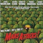 Cover CD Colonna sonora Mars Attacks!