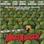 Cover CD Mars Attacks!