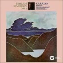 Sibelius. Sinfonia n.2 - CD Audio di Jean Sibelius,Herbert Von Karajan