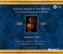 Live from the Lugano - CD Audio di Martha Argerich