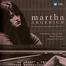 Ravel. Sonatine - CD Audio di Maurice Ravel,Martha Argerich