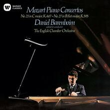 Concerti per Pianoforte 21 & 27 - CD Audio di Wolfgang Amadeus Mozart