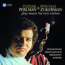 Moszkowski / Shostakovich / Prokofiev - CD Audio di Itzhak Perlman