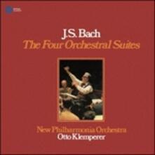 Le Quattro Suite Orchestrali - SuperAudio CD di Johann Sebastian Bach,Otto Klemperer