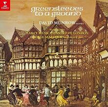 Greensleeves (Remastered) - CD Audio di David Munrow