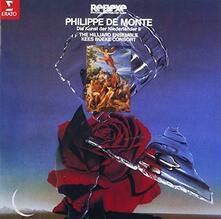 Philippe De Monte Sacred and Secular Works - CD Audio di Hilliard Ensemble,Philippus De Monte