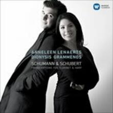 Schumann and Schubert. Trascrizioni per Clarinetto e Arpa - CD Audio di Franz Schubert,Robert Schumann,Anneleen Lenaerts