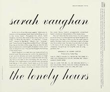 Lonely Hours (Limited Edition) - SHM-CD di Sarah Vaughan