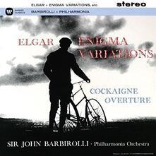 Enigma Variations. Cockaigne Overture (Ultimate High Quality CD Import) - CD Audio di Edward Elgar,Sir John Barbirolli,Philharmonia Orchestra