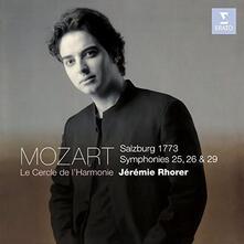 Sinfonie n.25, n.26, n.29 - CD Audio di Wolfgang Amadeus Mozart