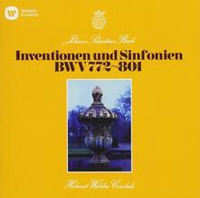 Invenzioni (Uhqcd) - CD Audio di Johann Sebastian Bach,Helmut Walcha