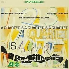 A Quartet Is a Quartet Is a Quartet (SHM CD Import) - SHM-CD di Modern Jazz Quartet