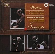 Concerto per Pianoforte n.1 - CD Audio di Johannes Brahms,Simon Rattle,Leif Ove Andsnes