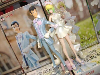 Lupin III. CreatorxCreator Lupin III / Rebecca Rossellini Wedding Version. Set 2 Figure Altezza 16 Cm - 2
