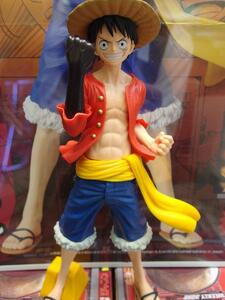 Weekly Jump 50Th Anniversary Figure One Piece Monkey.D.Luffy (Plastica 23 Cm)