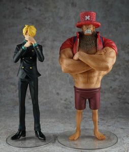 Giocattolo One Piece. Dramatic Showcase Stagione 03 #03. Tonytony Chopper E Sanji Banpresto