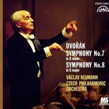 Sinfonie n.7, n.8 - CD Audio di Antonin Dvorak,Vaclav Neumann