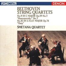 Quartetti per archi n.9, n.10 - CD Audio di Ludwig van Beethoven,Smetana Quartet
