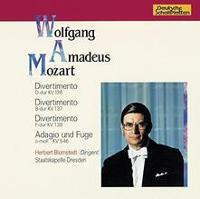 Divertimento D - Dur Kv. 136 (Japanese Edition) - CD Audio di Herbert Blomstedt