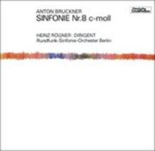 Bruckner.sinfonie Nr.8 (Japanese Edition) - CD Audio di Anton Bruckner,Heinz Rögner