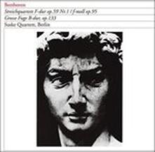 Quartetto D'archi Op.59 n.1 (Japanese Edition) - CD Audio di Ludwig van Beethoven,Berliner String Quartet