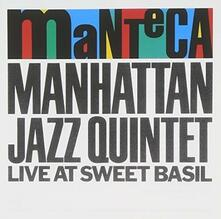 Manteca - Live (Japanese Edition) - CD Audio di Manhattan Jazz Quintet
