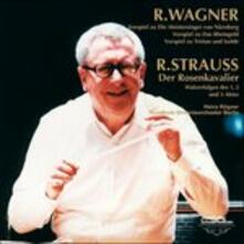 Wagner and Strauss Orchestral Works (HQ Japanese Edition) - CD Audio di Richard Wagner,Heinz Rögner