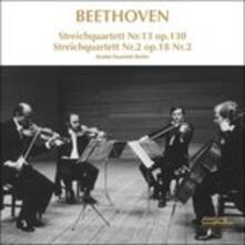 Quartetto D'archi n.13 (HQ Japanese Edition) - CD Audio di Ludwig van Beethoven,Berliner String Quartet