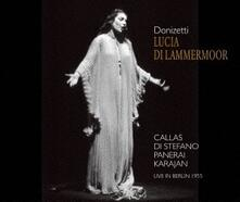 Lucia di Lammermoor (Ultimate High Quality CD) - CD Audio di Maria Callas,Giuseppe Di Stefano,Rolando Panerai,Gaetano Donizetti,Herbert Von Karajan