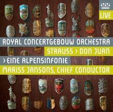 Sinfonia delle Alpi (UHQCD) - CD Audio di Richard Strauss
