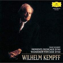 Schubert. Moments (Japanese Edition) - CD Audio di Franz Schubert,Wilhelm Kempff