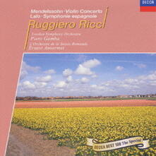 Concerto per violino / Sinfonia spagnola - CD Audio di Felix Mendelssohn-Bartholdy,Edouard Lalo,London Symphony Orchestra,Piero Gamba