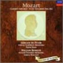 Concerto per clarinetto - Concerto per flauto n.1, n.2 (Reissue) - CD Audio di Wolfgang Amadeus Mozart,London Symphony Orchestra,Peter Maag,Gervase de Peyer