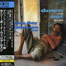 Down & Out Blues (Japanese Edition + Bonus Tracks) - CD Audio di Sonny Boy Williamson