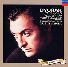 Sinfonie n.8, n.9 (Reissue) - CD Audio di Antonin Dvorak,Zubin Mehta,Los Angeles Philharmonic Orchestra