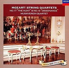 Quartetti per archi n.17, n.19 (Reissue) - CD Audio di Wolfgang Amadeus Mozart
