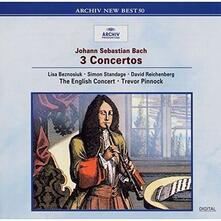 Concerti BWV 1044, 1060, 1055 (Japanese Limited Edition) - CD Audio di Johann Sebastian Bach,English Concert,Trevor Pinnock